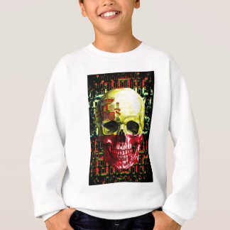 digital Skull (flag of spain) Sweatshirt