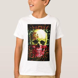 digital Skull (flag of spain) T-Shirt