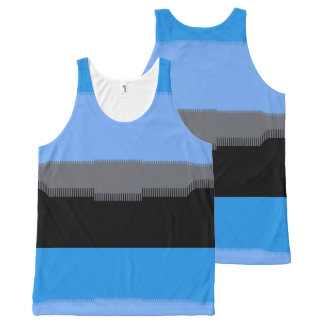 Digital Sky All-Over Print Tank Top