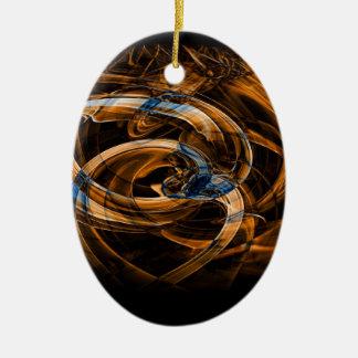 Digital Smoke Art (48).jpg Christmas Ornament