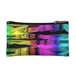 Digital Spectrum Make-up Bag Cosmetic Bag