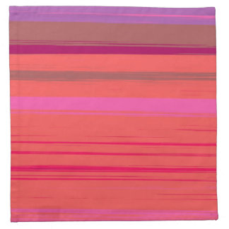 Digital Stripe Design American Mojo Napkins