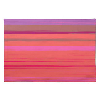 Digital Stripe Design Placemats