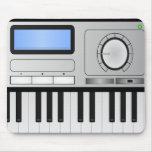 Digital Synthesizer Keyboard Mousepad