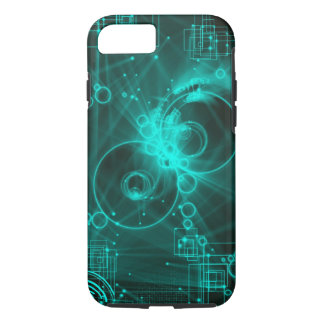 digital techno abstract art iPhone 7 case