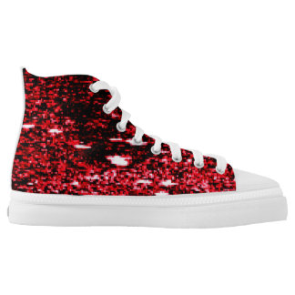 Digital universe printed shoes
