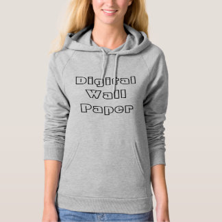 Digital Wallpaper Fleece Pullover Hoodie