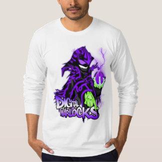Digital Warlock Purple Warlock - American Apparel T-shirts