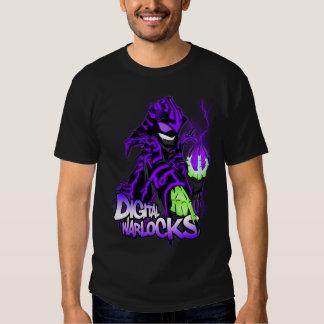 Digital Warlock Purple Warlock - Basic Dark T-Shir Tee Shirt