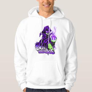 Digital Warlock Purple Warlock - Basic Hooded Swea Hoodie