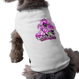 Digital Warlocks Pink and White Warlock - Doggie R Sleeveless Dog Shirt