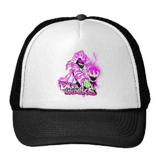 Digital Warlocks Pink and White Warlock - Trucker Mesh Hats