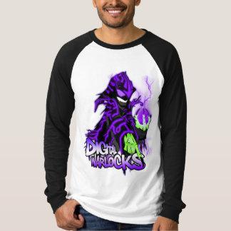 Digital Warlocks Purple Warlock - Basic Long Sleev Tees