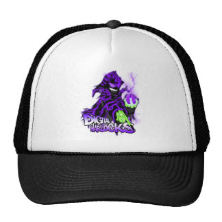 Digital Warlocks Purple Warlock Cap