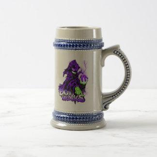 Digital Warlocks Purple Warlock - Custom Stein Coffee Mug