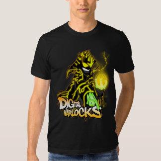 Digital Warlocks Yellow Warlock - Basic American A Tee Shirts