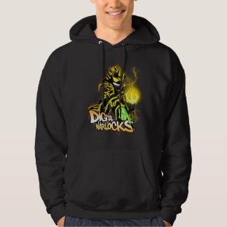 Digital Warlocks Yellow Warlock - Basic Hooded Swe Hoodie