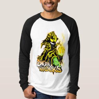 Digital Warlocks Yellow Warlock - Basic Long Sleev T-shirt