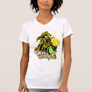 Digital Warlocks Yellow Warlock - Ladies Tank Top