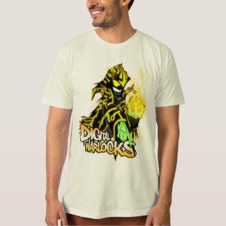 Digital Warlocks Yellow Warlock - Performance Micr Tee Shirts
