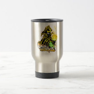 Digital Warlocks Yellow Warlock - Travel/Commuter  Stainless Steel Travel Mug