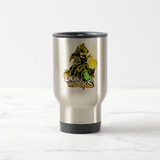 Digital Warlocks Yellow Warlock - Travel/Commuter  Stainless Steel Travel Mug
