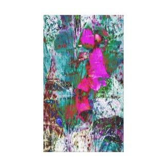 Digitalis Daydream Canvas Print