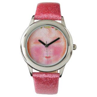 Digitalis faery pink watch
