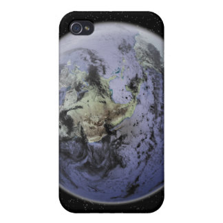 Digitally enhanced image of the Full Earth Case For The iPhone 4
