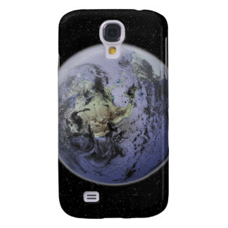 Digitally enhanced image of the Full Earth Galaxy S4 Case