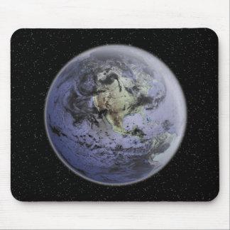 Digitally enhanced image of the Full Earth Mouse Mat