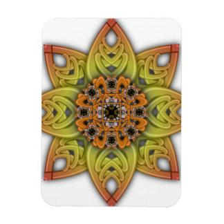 Digitally Grown Flower 1st Bloom Transparent Vinyl Magnet