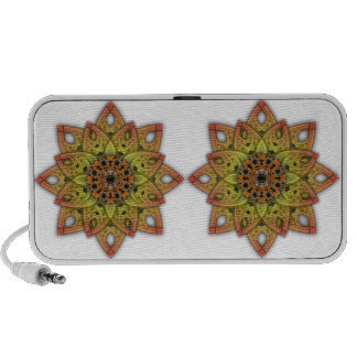 Digitally Grown Flower 2nd Bloom Transparent iPod Speakers