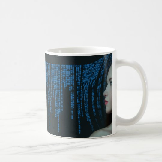 Digitisation: Artificially Beautiful Intelligence Coffee Mug