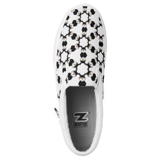 Digitized Super Hero Slip On Shoes
