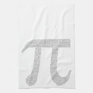Digits of Pi Tea Towel