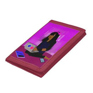 Digits Tri-fold Wallet