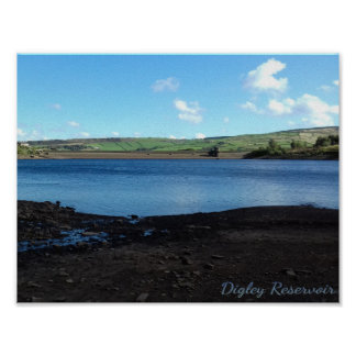 Digley Reservoir Photo Poster