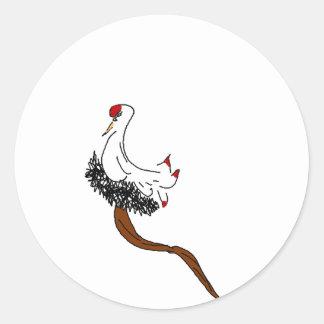 Dignified Bird Sticker