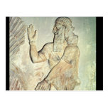 Dignitary, relief, Assyrian Postcard