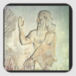 Dignitary, relief, Assyrian Stickers