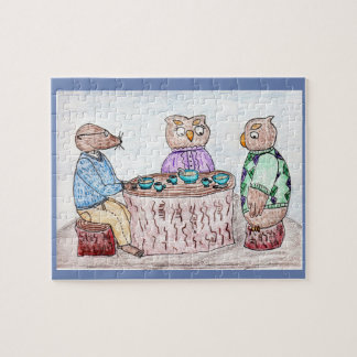 Digory Mole and Owl Friends Puzzle