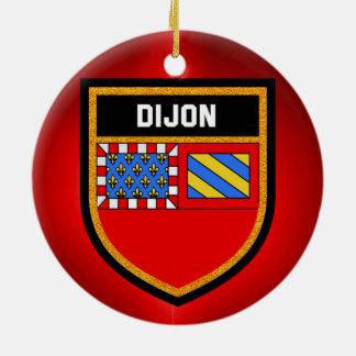Dijon Flag Christmas Ornament
