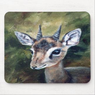 Dikdik Dwarf Antelope Mousepad