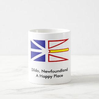 Dildo, Newfoundland A Happy Place Basic White Mug
