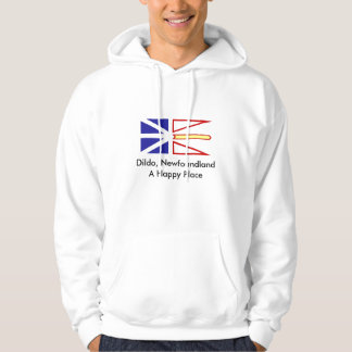 Dildo, Newfoundland A Happy Place Hooded Sweatshirts