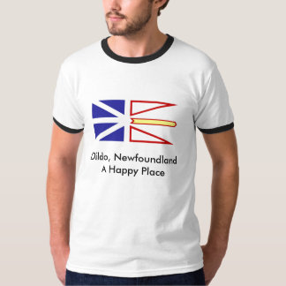 Dildo, Newfoundland A Happy Place Tee Shirt