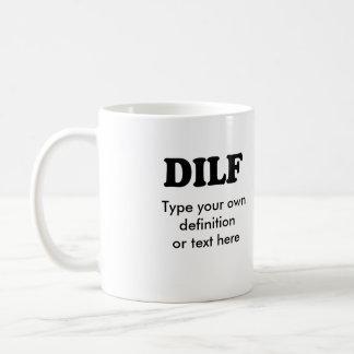 DILF BASIC WHITE MUG