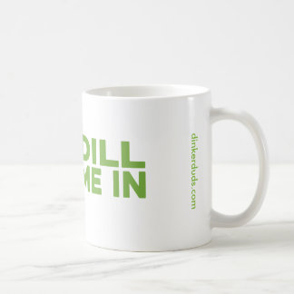 """Dill Me In"" Pickleball Mug"