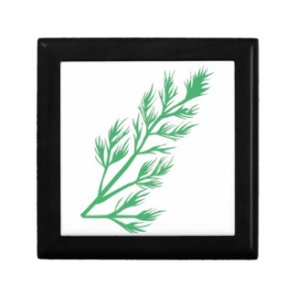 Dill Weed Small Square Gift Box